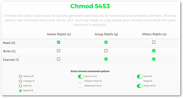 Chmod-Calculator-Chmod-Generator