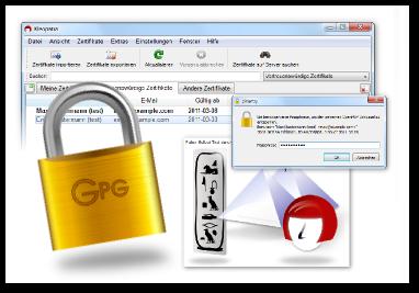 Gpg4win 2 2 2 - Verschlüsselte Mails via Outlook 2013