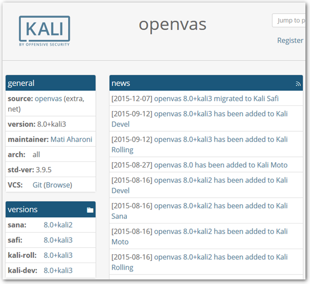 Kali-Linux-Package-Tracker