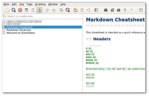 QOwnNotes - Notepad mit Nextcloud Anbindung | ITrig