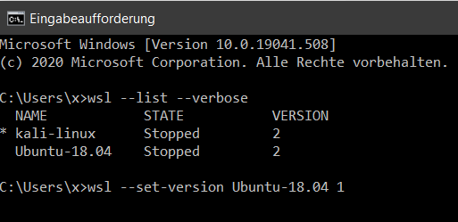 WSL-Ubuntu_18.04_LTS_downgrade