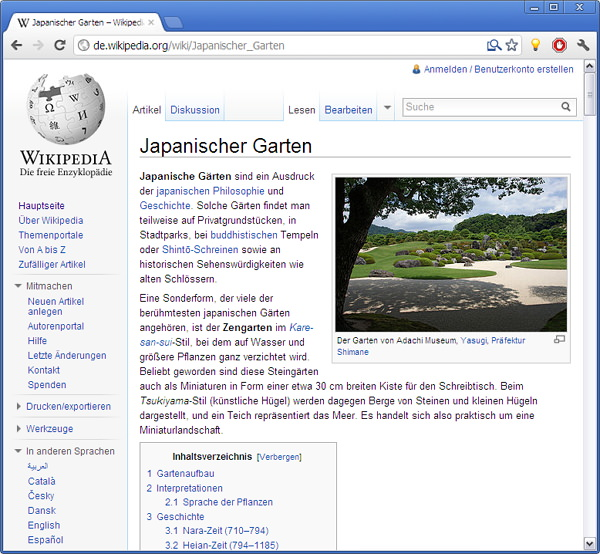 Wikipedia-Beautifier-vorher
