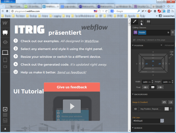 Webflow_CSS_Editor-im-Browser
