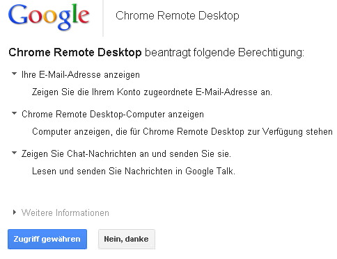 chrome-remote-desktop-rechte