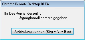 chrome-remote-desktop-trennen
