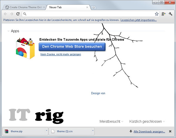 chrome-theme-ITrig