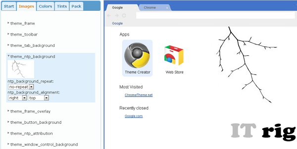 chrome-theme-creator-bilder