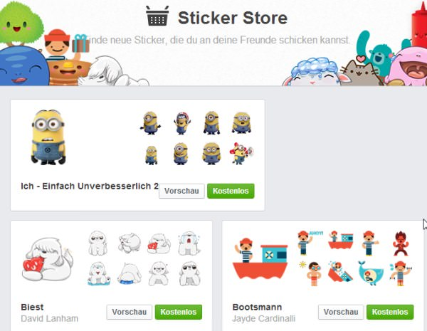 facebook-sticker-store
