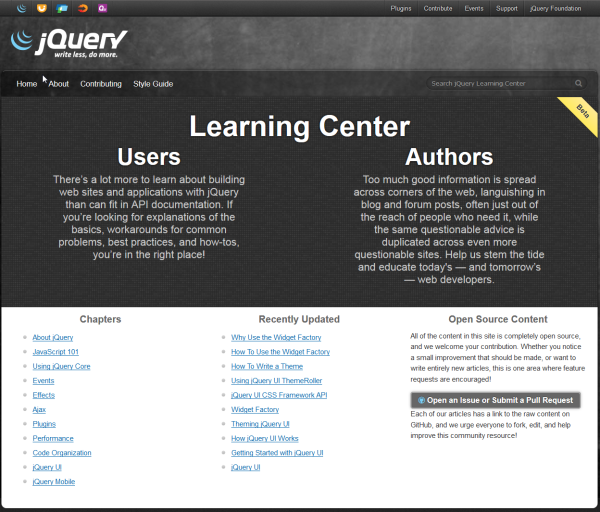 jQuery_Learning_Center