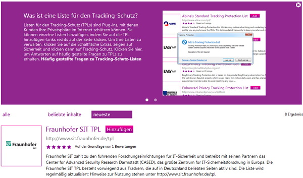 tracking-schutz-ie