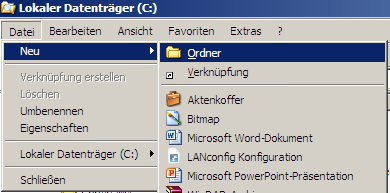 windows-neuer-ordner